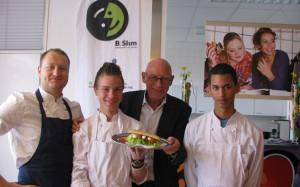 Accent Amersfoort opent gezonde schoolkantine!