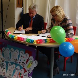 B.Slim samenwerkingsovereenkomst met FrieslandCampina Institute