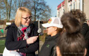 Opening Gezonde Schoolplein Accent Praktijkonderwijs en Trivium College